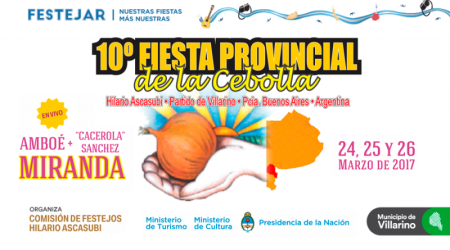Fiesta de la cebolla en Villarino